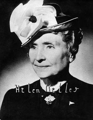 ヘレン・ケラー 生涯独身